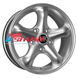 7x16 5x130 ET43 D84,1 SNG594 Silver (Ssang Yong)
