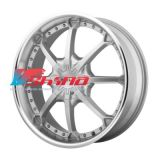 9x22 6x135/6x139,7 ET38 D100,5 HE871 Silver/Machined