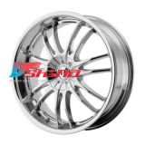 8x18 6x120 ET42 D72 HE845 Black/Machined