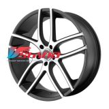 8,5x20 5x114,3 ET38 D72,62 WL35 Black/Machined