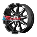 9x18 6x139,7 ET18 D106,25 XD779 Black/Machined