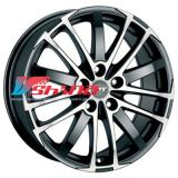 7,5x17 5x112 ET37 D70,1 X-Treme Racing black front polished