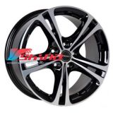 7,5x17 5x108 ET40 D72,5 XL Black Chrome Polished