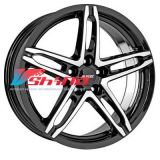 6x15 4x100 ET38 D63,3 Poison Diamant black front polished