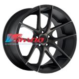 9,5x19 5x130 ET45 D71,5 Niche Targa Black/Machined