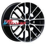 7x16 4x114,3 ET40 D72,5 BS4 Black polished
